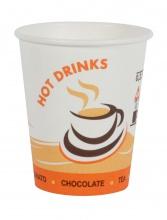 Papierové poháre 0,2l /50 ks/ coffee